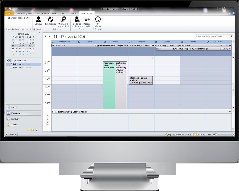 Integracja z Microsoft Outlook